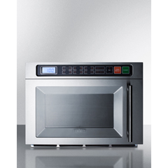 SMASCM1800M2 - Summit ApplianceDual Magnetron Commercial Microwave, Stainless Steel