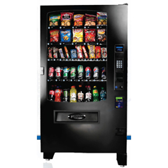 SEAINF5C - Seaga - 5-Wide 36 Selection Refrigerated Snack/Drink Combo Machine