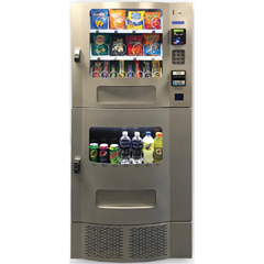 SEASM23S - Seaga - 16/7 Snak Mart Snack/Drink Combo Vending Machine, Silver