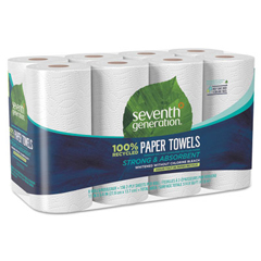 SEV13739CT - Seventh Generation® 100% Recycled Paper Towel Rolls