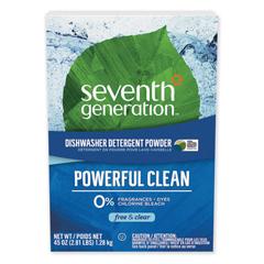 SEV22150 - Seventh Generation® Free & Clear™ Natural Automatic Dishwashing Powder