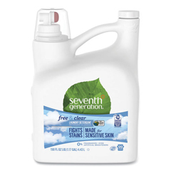SEV22803 - Seventh Generation Natural 2X Concentrate Liquid Detergent, Free & Clear
