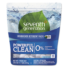 SEV22897 - Natural Automatic Dishwasher Detergent Pacs