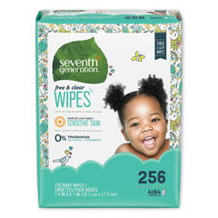 SEV34219 - Seventh Generation® Free & Clear Baby Wipes