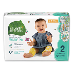 SEV44061 - Seventh Generation® Free & Clear Baby Diapers