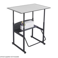 SFC1208GR - SafcoAlphaBetter® Desk, 36 x 24 Premium Top, w/o Book Box