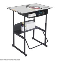 SFC1209GR - SafcoAlphaBetter® Desk, 36 x 24 Premium Top, with Book Box
