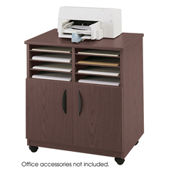 SFC1851MH - SafcoMobile Laminate Machine Stand with Sorter Compartments