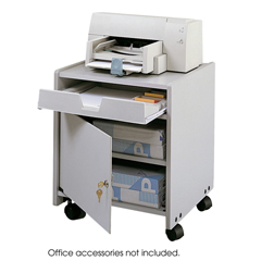 SFC1854GR - SafcoOffice Machine Mobile Floor Stand