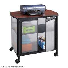 SFC1859BL - SafcoImpromptu®  Deluxe Machine Stand with Doors