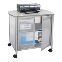 SFC1859GR - SafcoImpromptu™ Deluxe Machine Stand with Doors