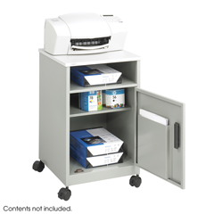 SFC1871GR - SafcoSteel Machine Stand with Open Storage Compartment