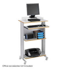 SFC1923GR - SafcoMuv™ Stand-up Fixed Height Workstation