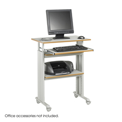 SFC1929GR - SafcoMuv™ Stand-up Adjustable Height Workstation