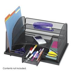 SFC3252BL - SafcoOrganizer with Three Drawers