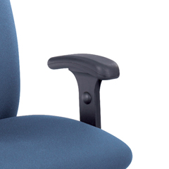 SFC3496BL - SafcoHeight-Adjustable T-Pad Arms