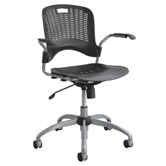 SFC4182BL - SafcoSassy® Manager Plastic Swivel Chair
