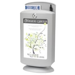 SFC4233GR - SafcoCustomizable Plastic Suggestion Box