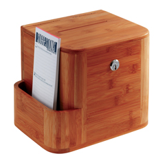 SFC4237CY - SafcoBamboo Suggestion Box