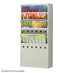 SFC4310GR - SafcoSteel Magazine Rack