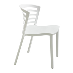 SFC4359WH - SafcoEntourage™ Stack Chair - White