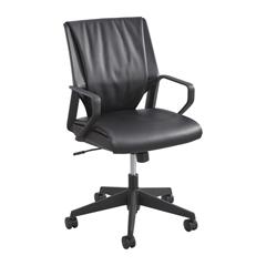SFC5076BL - SafcoPriya™ Leather Executive Mid Back Chair
