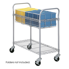 SFC5236GR - SafcoHeavy-Duty Steel Wire Mail Cart