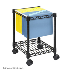 SFC5277BL - SafcoCompact Mobile Wire File Cart