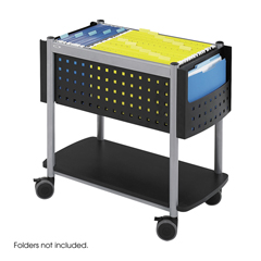 SFC5373BL - SafcoScoot™ Open Top Mobile File Cart