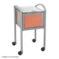 SFC5374GR - SafcoImpromptu™ Locking File Cart