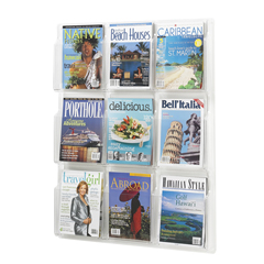 SFC5603CL - SafcoReveal™ Clear Literature Displays