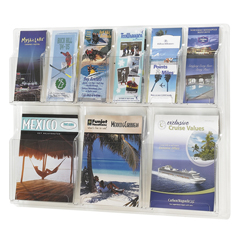SFC5605CL - SafcoReveal™ Clear Literature Displays