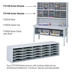 SFC7751GR - SafcoE-Z Sort® Mail Sorter Module