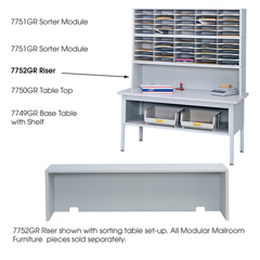 SFC7752GR - SafcoE-Z Sort® Riser