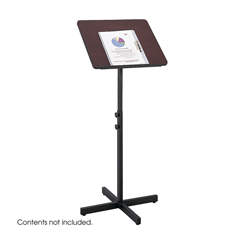 SFC8921MH - SafcoSpeaker Stand with Height and Tilt Adjustability