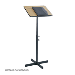 SFC8921MO - SafcoSpeaker Stand with Height and Tilt Adjustability