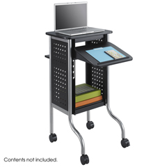 SFC8945BL - SafcoScoot™ Presentation Cart