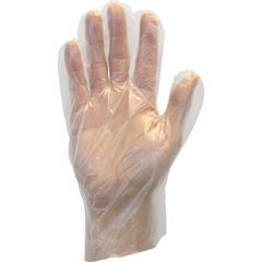 SFZGDPL-LG-R - Safety ZoneLow Density Poly Gloves - Large