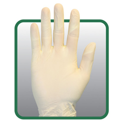 SFZGVP9-LG-1-SY - Safety ZonePowder Free Natural Synthetic Gloves