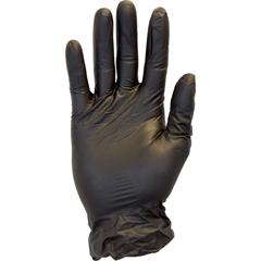 SFZGVP9-LG-1C-K - Safety ZonePowder Free Black Vinyl Gloves