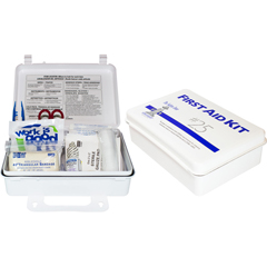 SFZK-FAK-25-P - Safety Zone25 Person Plastic First Aid Kit