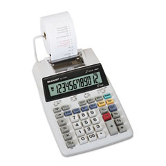 SHREL1750V - Sharp® EL1750V LCD Two-Color Printing Calculator