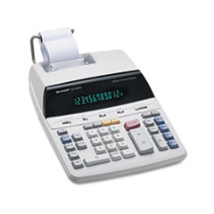 SHREL2192RII - Sharp® EL2192RII Two-Color Roller Printing Calculator