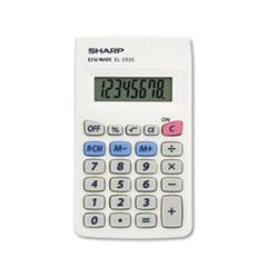 SHREL233SB - Sharp® EL233SB Pocket Calculator