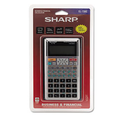 SHREL738C - Sharp® EL-738C Financial Calculator