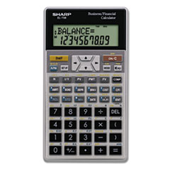 SHREL738FB - Sharp® EL-738C Financial Calculator