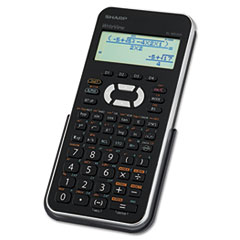 SHRELW535XBSL - Scientific Calculator Writeview, 12-Digit, 4-Line, 335-Function