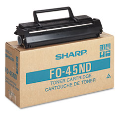 SHRFO45ND - Sharp FO45ND Toner/Developer Cartridge, 6500 Page-Yield, Black