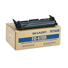SHRFO47DR - Sharp FO47DR Drum Cartridge, Black