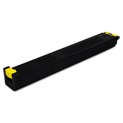 SHRMX27NTYA - Sharp MX27NTYA Toner, 15000 Page-Yield, Yellow
